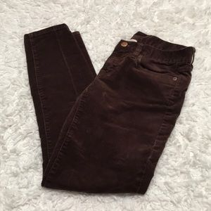🐻J.Crew Ankle Length Corduroy Pant 🐻